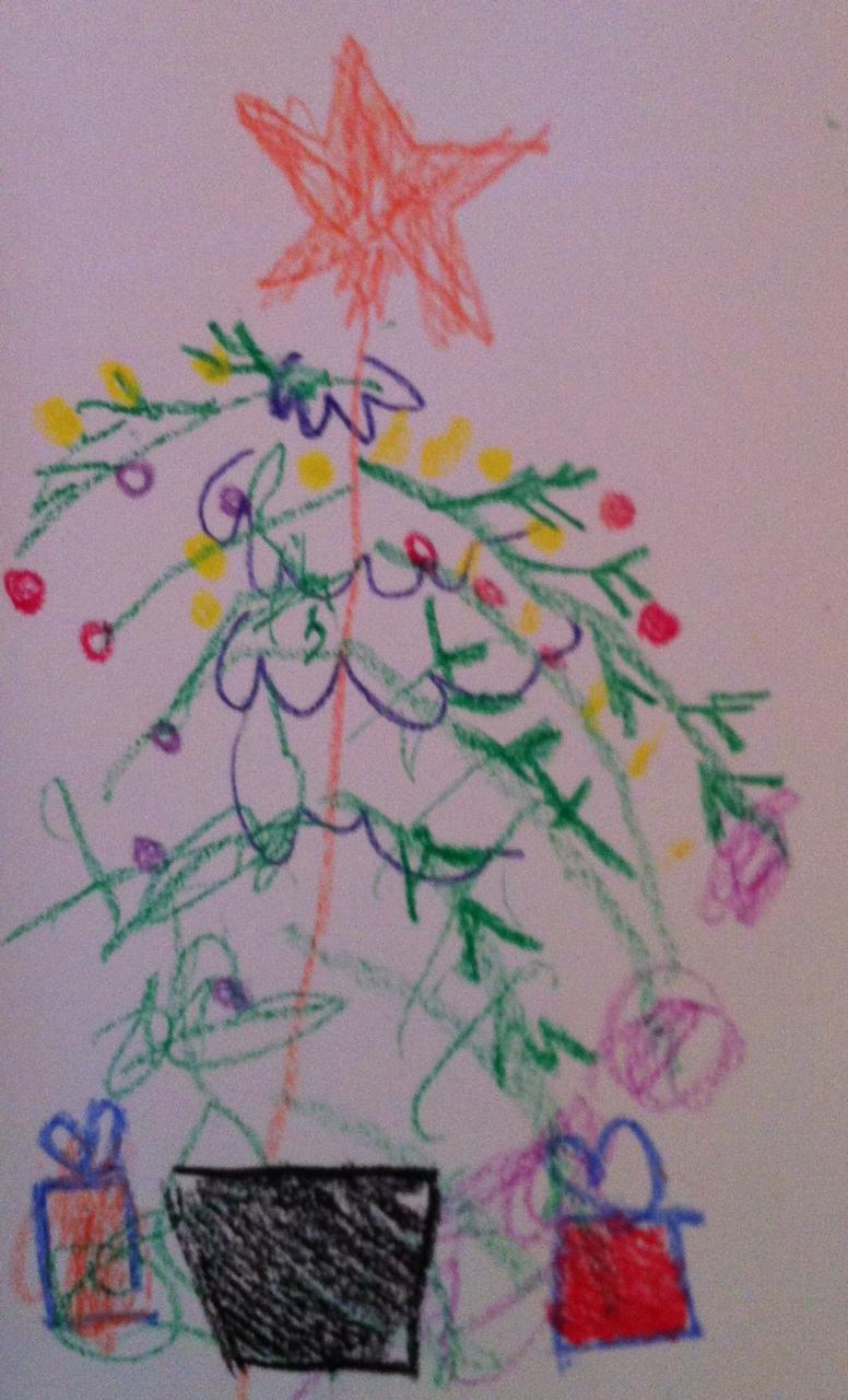 an early Christmas card