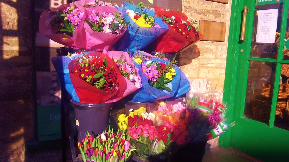 singing: a choir of flowers
